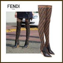 FENDI Over-the-Knee Boots