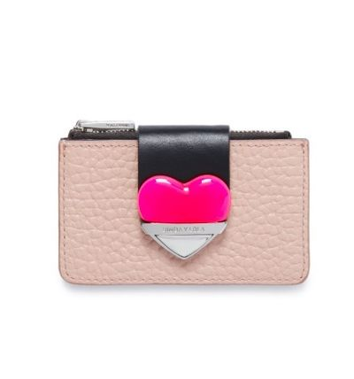 Heart Leather Coin Purses