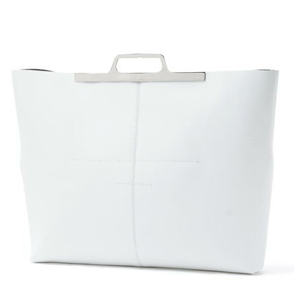 Calfskin A4 Elegant Style Totes