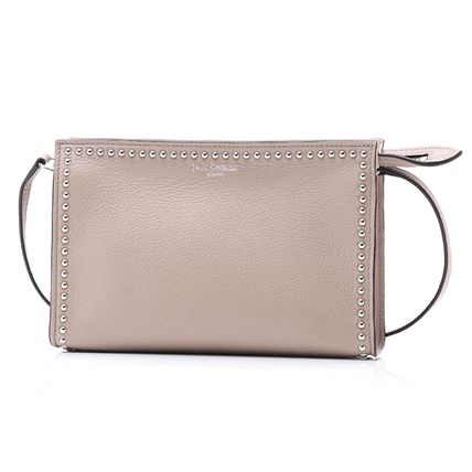 d2850e45af00 J   M Davidson 2018-19AW Leather Elegant Style Shoulder Bags by ...