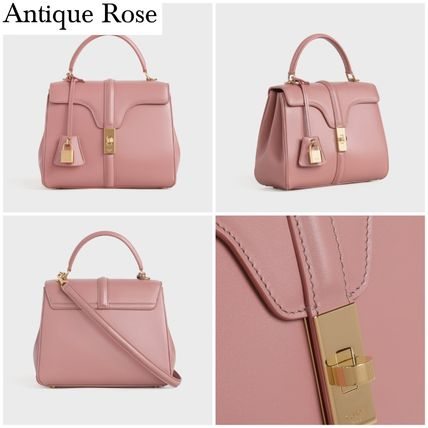 CELINE 16 Small 16 Bag In Patent Calfskin