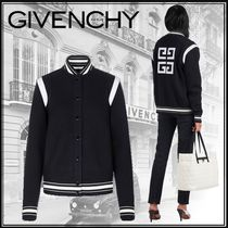 GIVENCHY Casual Style Wool Street Style Medium Varsity Jackets
