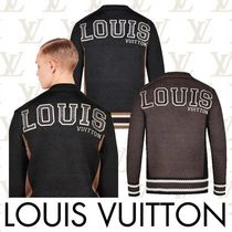 Louis Vuitton Silk Low Gauge V-Neck Long Sleeves Vests & Gillets