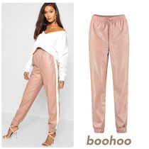 boohoo Casual Style Faux Fur Street Style Long