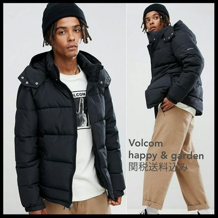 Street Style Plain Oversized Down Jackets