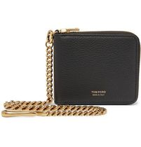 TOM FORD Chain Leather Folding Wallets