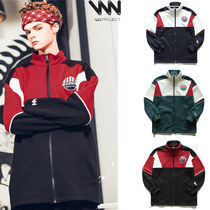 WV PROJECT Unisex Street Style Collaboration Jackets