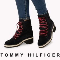 Tommy Hilfiger Mountain Boots Round Toe Rubber Sole Casual Style Unisex
