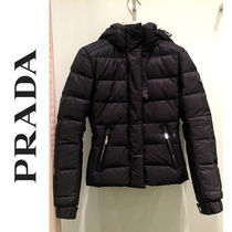 PRADA Short Biker Jackets