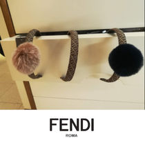 FENDI Blended Fabrics Kids Girl Accessories