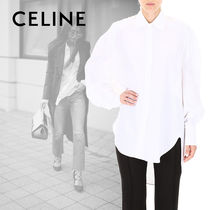 CELINE Long Sleeves Cotton Shirts & Blouses