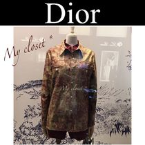 Christian Dior Street Style Long Sleeves Other Animal Patterns Medium