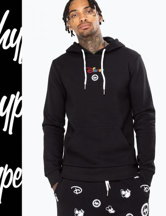Pullovers Street Style Collaboration Long Sleeves Hoodies