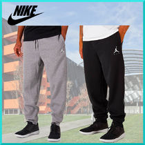Nike AIR JORDAN Unisex Plain Cotton Pants