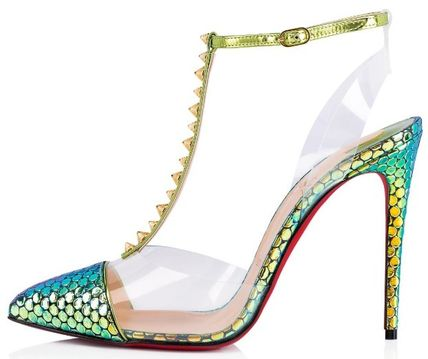 75b05392c4f ... Christian Louboutin More Shoes Studded Pin Heels Elegant Style Shoes 3  ...