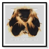 Louis Vuitton Silk Blended Fabrics Elegant Style Detachable Collars