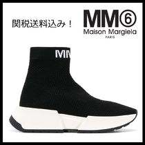 MM6 Maison Margiela Rubber Sole Casual Style Plain Low-Top Sneakers