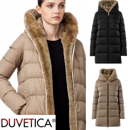 DUVETICA Down Jackets Plain Medium Down Jackets