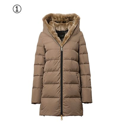 DUVETICA Down Jackets Plain Medium Down Jackets 2