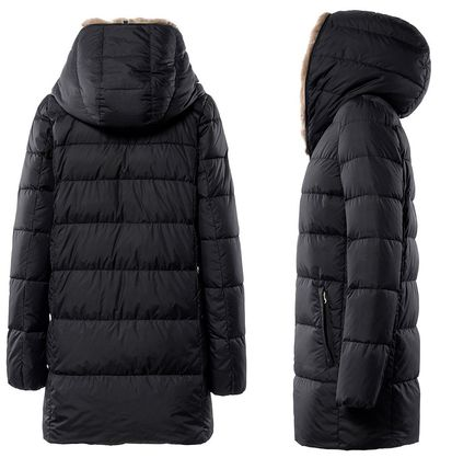 DUVETICA Down Jackets Plain Medium Down Jackets 4