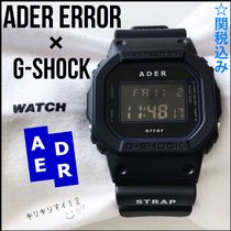 ADERERROR Unisex Street Style Collaboration Digital Watches