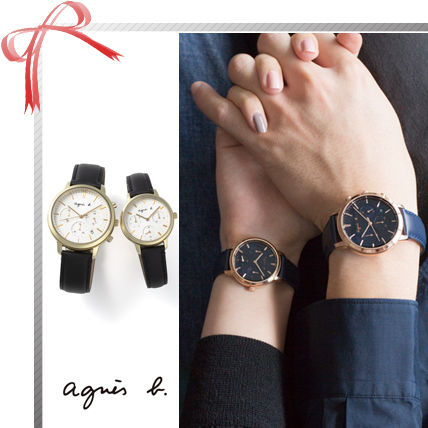 Casual Style Round Quartz Watches Stainless Analog Watches