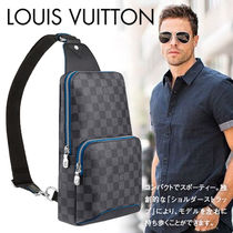 Louis Vuitton DAMIER GRAPHITE Unisex Canvas Street Style Bags