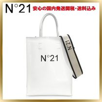 N21 numero ventuno Casual Style 2WAY Plain Leather Shoulder Bags