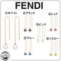FENDI Brass Earrings & Piercings