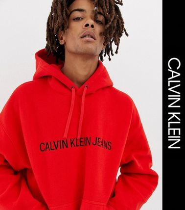 Calvin Klein Hoodies Sweat Street Style Hoodies