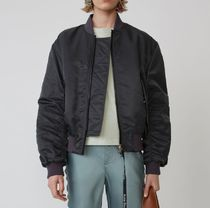 Acne Street Style Plain Medium MA-1 Bomber Jackets