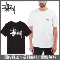 STUSSY Street Style Cotton Short Sleeves T-Shirts