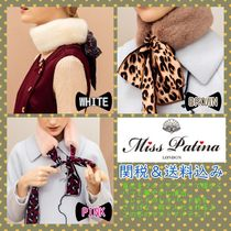 Miss Patina Leopard Patterns Plain Detachable Collars