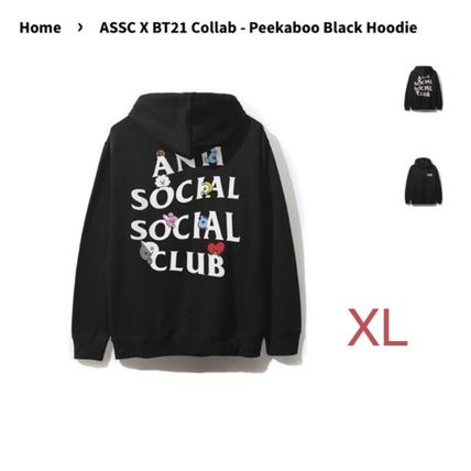 23d1d0d62729 ... ANTI SOCIAL SOCIAL CLUB Hoodies   Sweatshirts Unisex Street Style  Collaboration Oversized ...