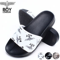 BOY LONDON Unisex Street Style Collaboration Slippers Sandals