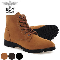 BOY LONDON Street Style Collaboration Plain Boots