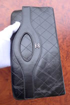 CHANEL ICON Unisex Leather Clutches
