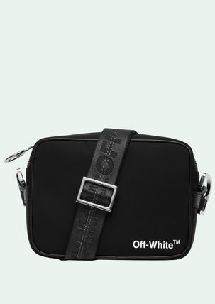 Off-White Messenger & Shoulder Bags Unisex Street Style Messenger & Shoulder Bags