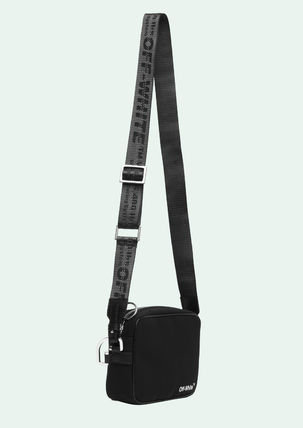 Off-White Messenger & Shoulder Bags Unisex Street Style Messenger & Shoulder Bags 3