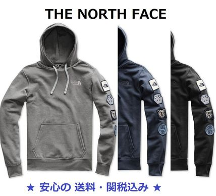 THE NORTH FACE Hoodies Pullovers Sweat Street Style Long Sleeves Plain Hoodies