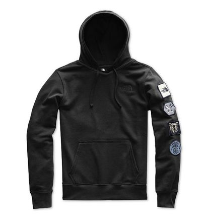 THE NORTH FACE Hoodies Pullovers Sweat Street Style Long Sleeves Plain Hoodies 4