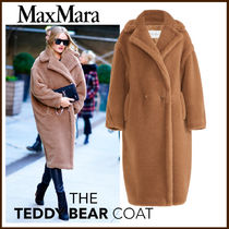 MaxMara Wool Long Down Jackets