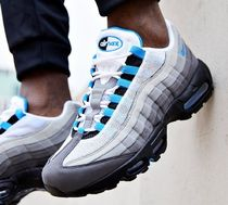 Nike AIR MAX 95 Faux Fur Blended Fabrics Street Style Sneakers