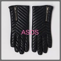 ASOS Leather Leather & Faux Leather Gloves