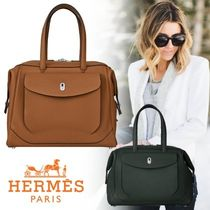 HERMES Unisex 1-3 Days Soft Type Carry-on Luggage & Travel Bags