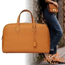 HERMES Victoria Unisex 1-3 Days Soft Type Carry-on Luggage & Travel Bags