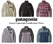 Patagonia Casual Style Long Sleeves Plain Medium High-Neck Tops