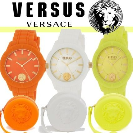 Casual Style Unisex Silicon Analog Watches