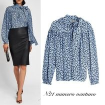 N21 numero ventuno Star Silk Long Sleeves Elegant Style Shirts & Blouses
