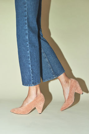 Rouje Pointed Toe Plain Elegant Style Pointed Toe Pumps & Mules 2